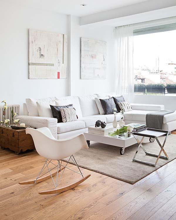 Olha esta cadeira de balanço, que graça! Atual, charmosa e uma delícia! It Ideia para você!