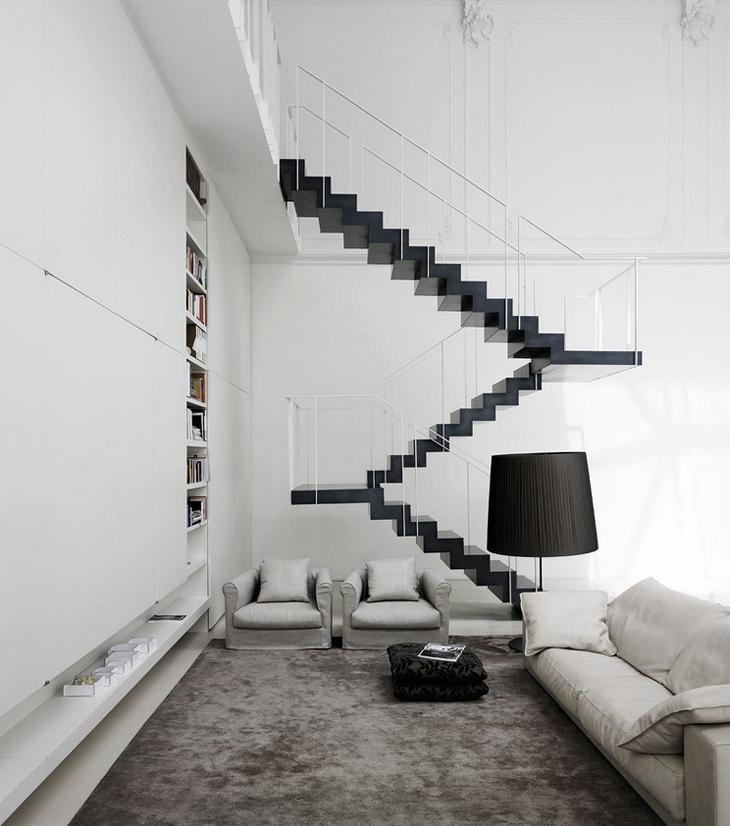 Arte + Função = Arquitetura! Esta escada é pura arquitetura!
