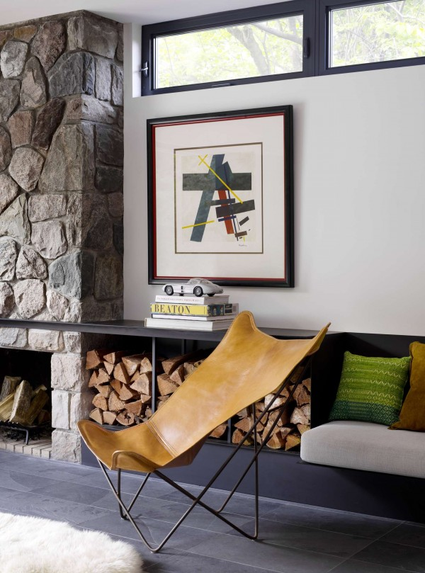 Para quem prefere ver o design aplicado em casa, detalhe para a cadeira!