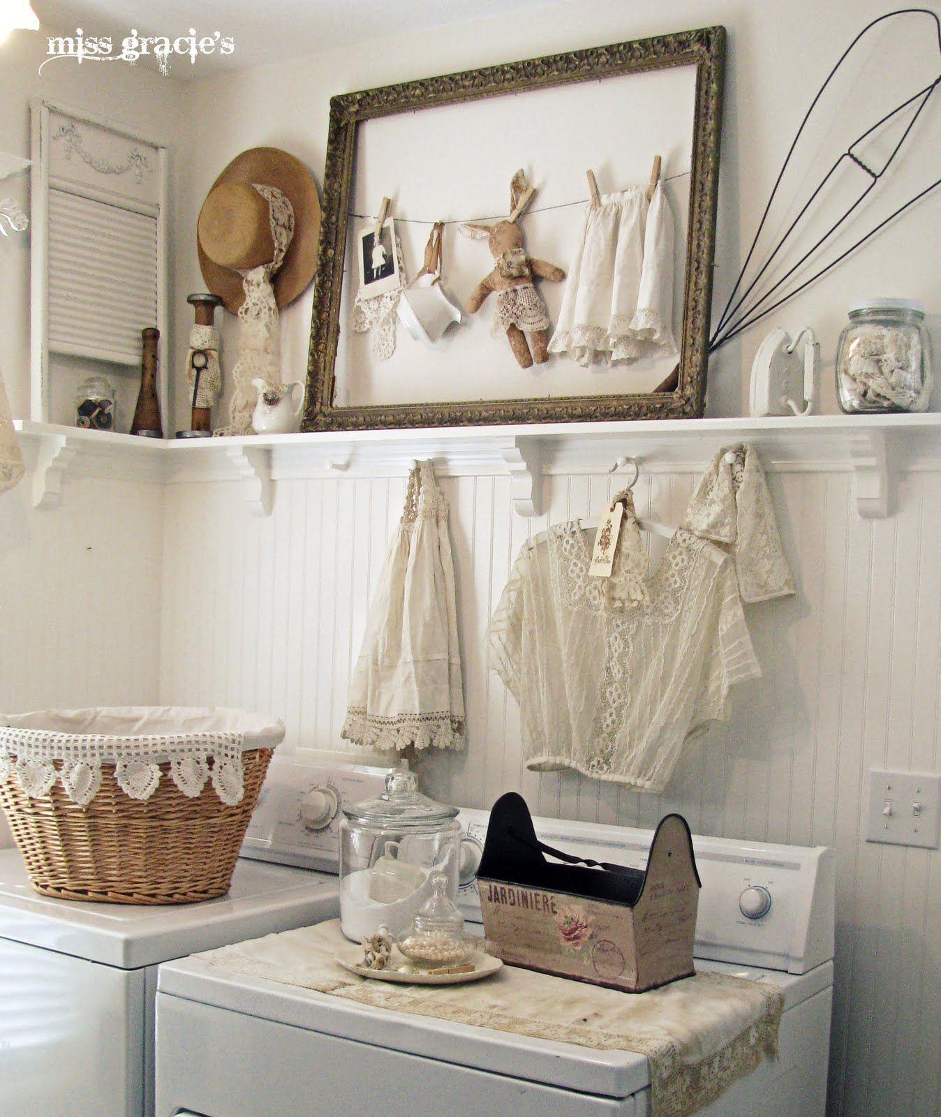 Laundry Layouts And Ideas Small Living Rooms Rustic: Shabby Chic ― O Estilo Da Delicadeza