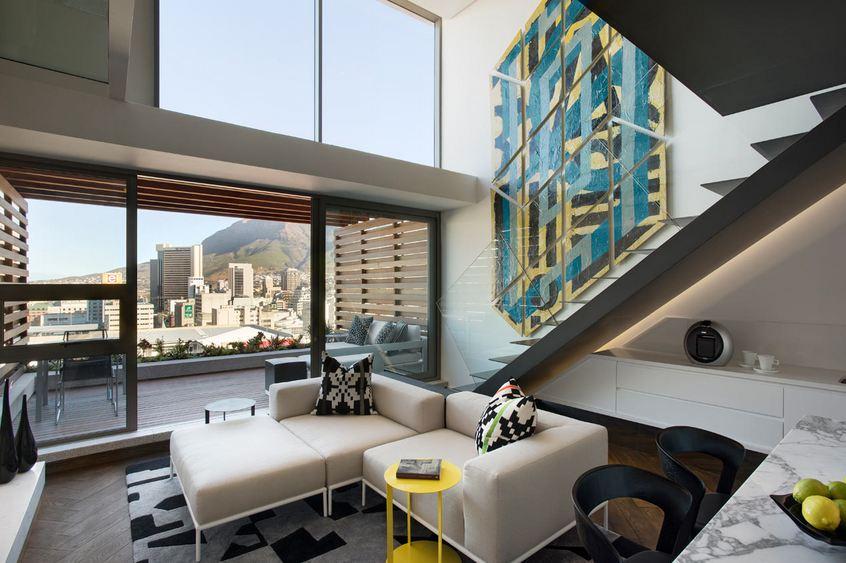 Um loft muito especial na cidade do cabo veja aqui it for Loft modernos exterior